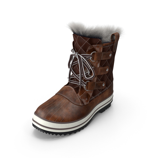Snow Boot PNG & PSD Images