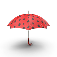 Ladybug Umbrella PNG & PSD Images