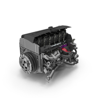 Engine Cutaway PNG & PSD Images