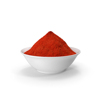 Bowl of Red Curry Powder PNG & PSD Images