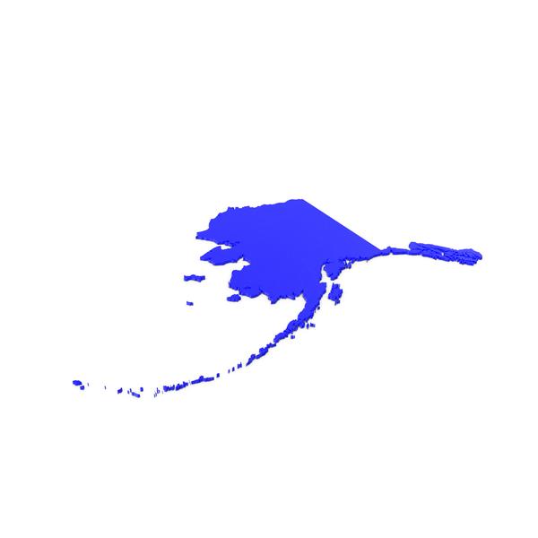 Alaska Counties Map PNG & PSD Images