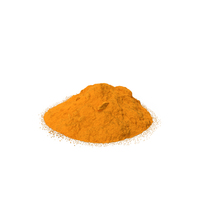 Powdered Turmeric PNG & PSD Images