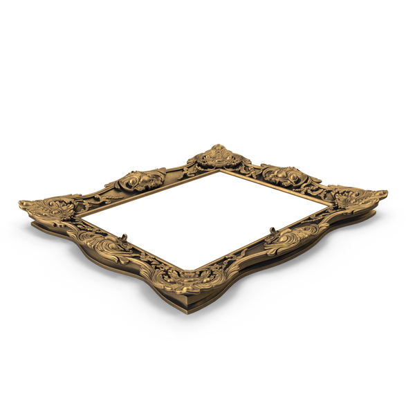 Rococo Picture Frame PNG & PSD Images