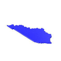 Kentucky Counties Map PNG & PSD Images