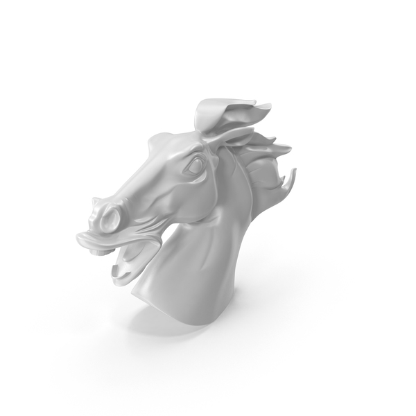 Horse Head Statue PNG & PSD Images
