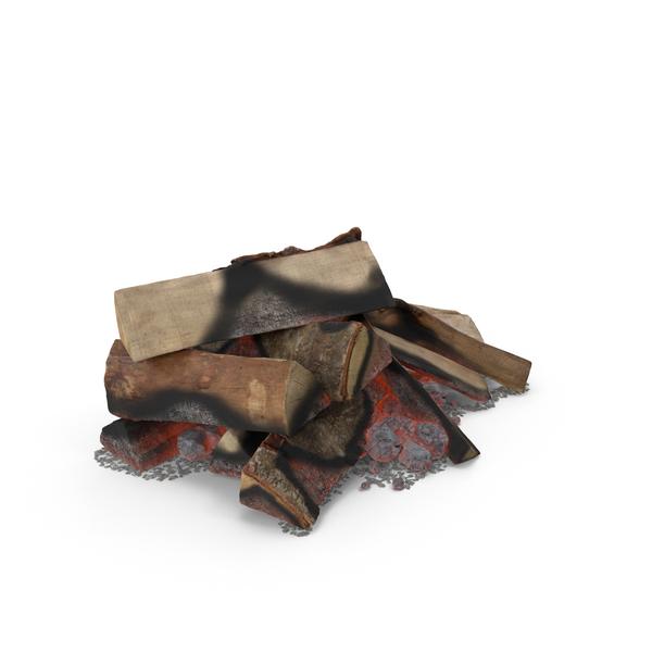Wood Burning Fire Object