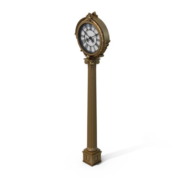 Street Clock PNG & PSD Images
