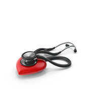 Stethoscope & Heart PNG & PSD Images