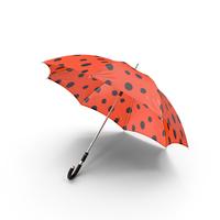 Lady Bug Umbrella PNG & PSD Images