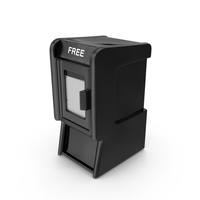 Free Newspaper Box PNG & PSD Images