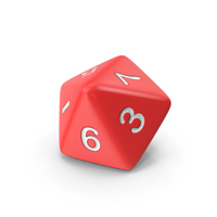 Polyhedral 10 Sided Die PNG & PSD Images