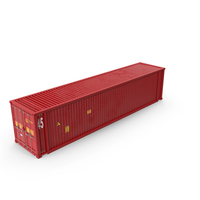45 ft Long Shipping Container PNG & PSD Images