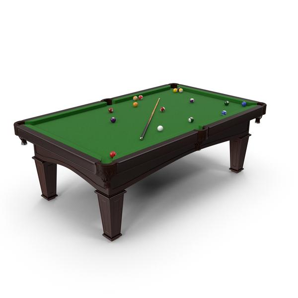 Billiards Set PNG & PSD Images