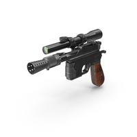 Han Solo Blaster PNG & PSD Images