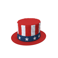 Patriotic Stovepipe Hat PNG & PSD Images