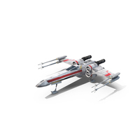 Luke's X-Wing Starfighter PNG & PSD Images
