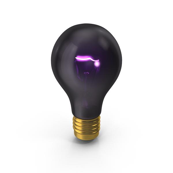 Blacklight Bulb PNG & PSD Images