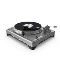 DJ Turntable PNG & PSD Images