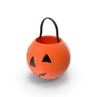 Halloween Candy Pail PNG & PSD Images