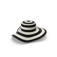 Ladies Wide Brimmed Sun Hat PNG & PSD Images