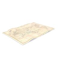 Antique Map PNG & PSD Images