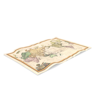 Retro Map PNG & PSD Images
