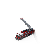 Ladder Fire Truck  Object