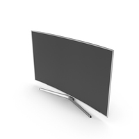 4K SUHD JS9000 Series 48 inch Curved Smart TV PNG & PSD Images