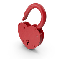 Heart Shaped Lock PNG & PSD Images