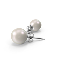 Pearl Earrings PNG & PSD Images