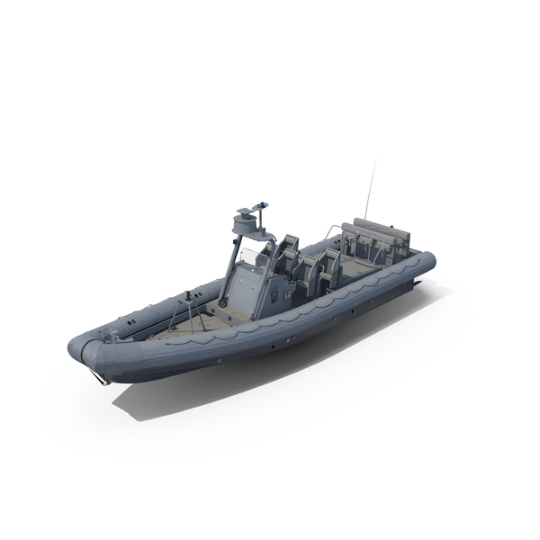 Naval Special Warfare Rigid Hull Inflatable Boat RHIB PNG & PSD Images