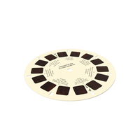 Stereoscope Cardboard Disc PNG & PSD Images