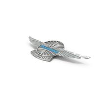 Pan Am Junior Wings Pin PNG & PSD Images