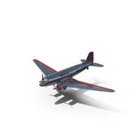 Douglas DC-3 American Airlines PNG & PSD Images