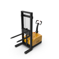 Electric Pallet Stacker PNG & PSD Images