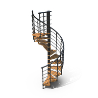 Spiral Staircase PNG & PSD Images
