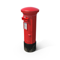 British Post Box PNG & PSD Images