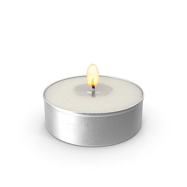 Tea Light Candle PNG & PSD Images