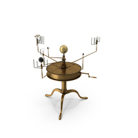 Solar System Orrery PNG & PSD Images