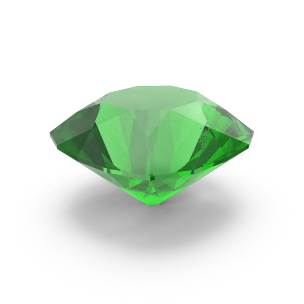 Round Emerald PNG & PSD Images