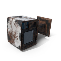 Destroyed Newspaper Box PNG & PSD Images