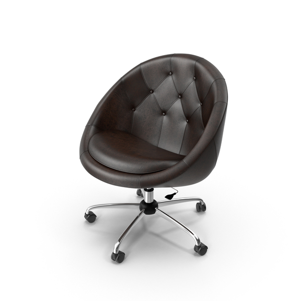 Brown Swivel Chair PNG & PSD Images