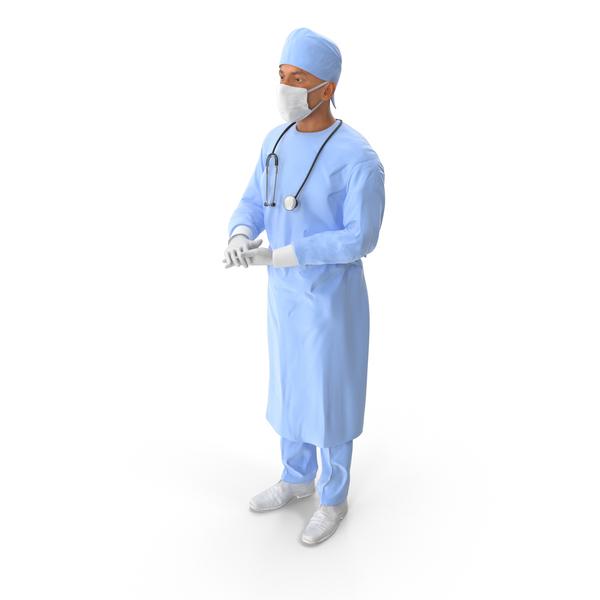 Male Surgeon Object