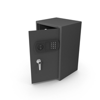 Full Opened Safe PNG & PSD Images