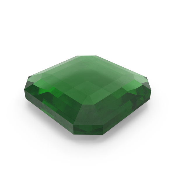 Square Emerald PNG & PSD Images