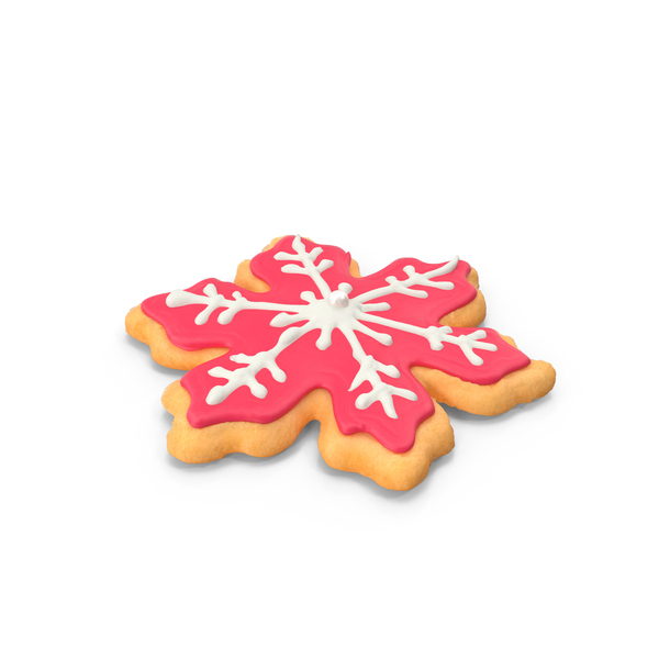 Snowflake Cookie PNG & PSD Images