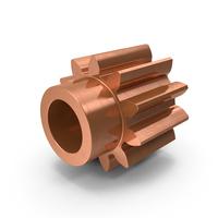 Copper Spur Gear PNG & PSD Images