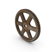 Rusty Spur Gear PNG & PSD Images