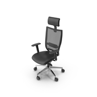 Mesh Office Chair PNG & PSD Images