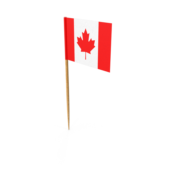 Toothpick Canadian Flag PNG & PSD Images